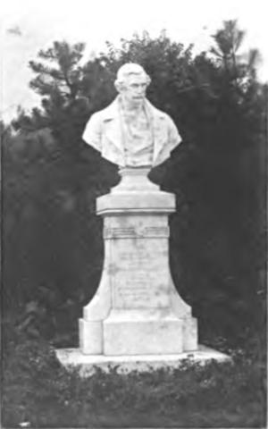 Charles von Hügel - Memorial. The Hügeldenkmal at Hietzing, Vienna, by Johann Benks, 1901.