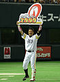 HAWKS KOKUBO-his 2000th professional hit.jpg