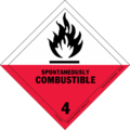 HAZMAT Class 4-2 Spontaneously Combustible Solid.png