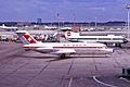 HB-IFA DC-9-15 Swissair LHR 29AUG66 (5589989174).jpg