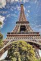 HDR - Tour Eiffel Tower Paris France - creative commons by gnuckx (8594428854).jpg