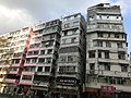 HK Bus 101 Tour view 馬頭圍道 Ma Tau Wai Road Tong Lau facade April 2013.JPG