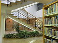 HK CWB HKCL interior 香港中央圖書館 10th floor Central Public Library indoor stairs.JPG