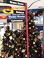 HK TSO 將軍澳 Tseung Kwan O PopCorn mall December 2018 SSG 03 tree Xmas n signs.jpg