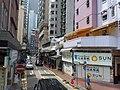 HK WC tram view 灣仔 Wan Chai 莊士敦道 Johnston Road September 2019 SSG 25.jpg