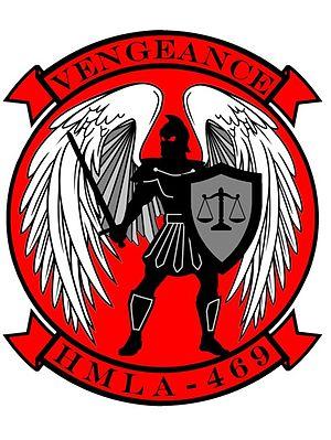 HMLA-469 - HMLA-469's insignia