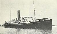 HMS Osmanieh passenger ship built 1906 sunk Dec 31 1917.jpg