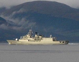 Hydra-class frigate - Image: HS Psara (F 454) 23 10 06 1138