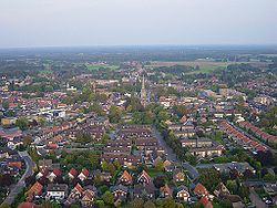 Aerial view of Haaksbergen