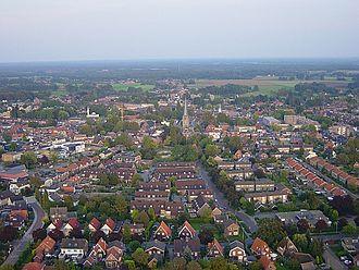 Haaksbergen - Aerial view of Haaksbergen