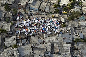 Haiti earthquake aftermath tent city.jpg