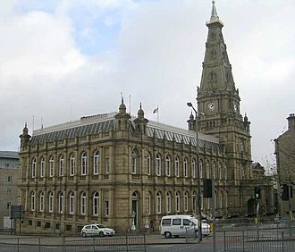 Halifax, West Yorkshire - Halifax Town Hall