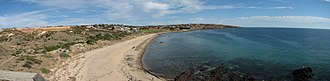Hallett Cove, South Australia - Panoramic photo of Hallett Cove including Hallett Cove beach and the conservation park