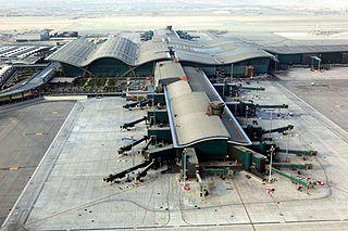 Hamad International Airport Largest civil airport in Doha, Qatar