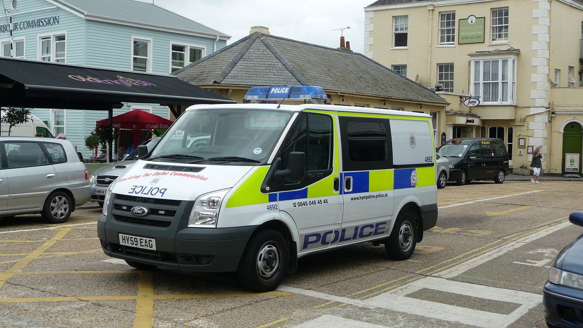 Ford Transit Connect >> Police van - Wikipedia