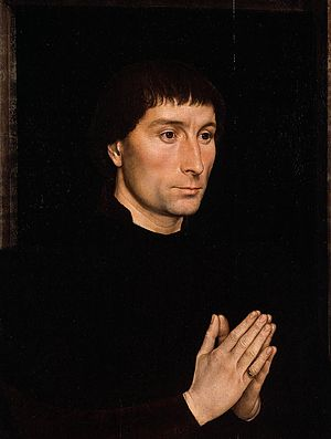 Portrait of Maria Portinari - Portrait of Tommaso Portinari, c 1470. Metropolitan Museum of Art, New York