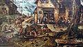 Hans bol, veduta di villaggio con scene burlesche, 1560-90 ca. 02.JPG