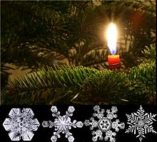 Christmas card wikipedia christmas card made on a pc incorporating digital photography m4hsunfo