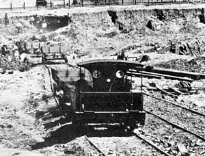 1874 in South Africa - Table Bay Harbour Board 0-4-0T