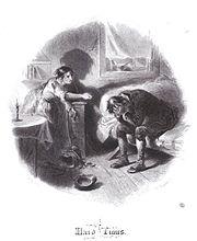Vignette en frontispice du tome 1 d'une édition américaine de 1863