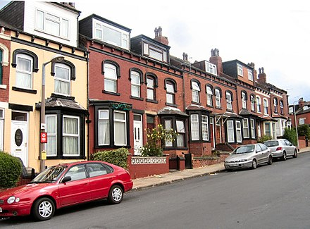 1800s through terraced houses in Harehills. HarehillsTerrace1a.jpg