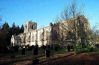 All Saints Church, Harewood Church in West Yorkshire, England