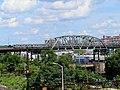 Harlem River bridge from Whitlock Avenue station, September 2018.JPG