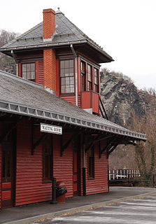 Harpers Ferry station railway station in Harpers Ferry, West Virginia
