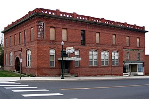National Register of Historic Places listings in Lincoln County, Washington - Image: Harrington, WA Lincoln Hotel