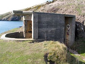 Harington Point - Harington Point gun emplacement