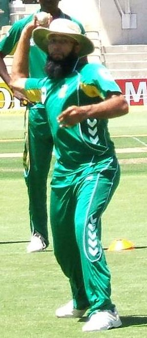 Hashim Amla - Amla at fielding practice, Adelaide Oval, January 2009