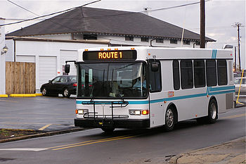 Hub City Transit Bus, Hattiesburg, MS, 2007