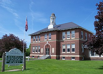 Haverhill, New Hampshire - Image: Haverhill NH town hall 5