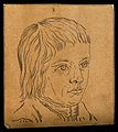 Head of a youth. Drawing, c. 1794. Wellcome V0009207ER.jpg