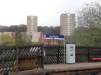 Headingley railway station - Image: Headingley railway station (12th April 2014) 004