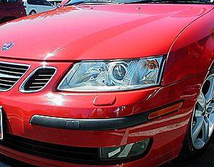 Safety reflector - Image: Headlights projector reflector optics