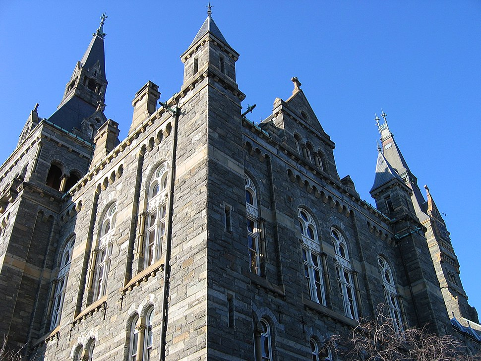 Healy hall georgetown