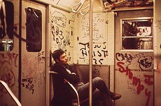 Graffiti in New York City