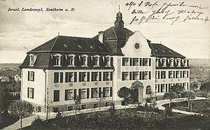 Heilbronn, Sontheim, Israelitisches Landesasyl 1907 Hermann-Wolf-Straße 31.jpg