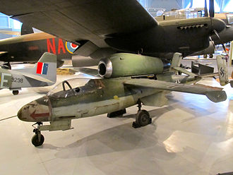 Wingtip device - Heinkel He 162A with Lippisch-Ohren wingtip devices