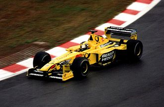 2000 Formula One World Championship - Heinz-Harald Frentzen (pictured at the Belgian Grand Prix) finished third in Brazil.