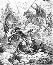 Helgi und Sigrun by Johannes Gehrts