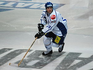 "Finland men's national ice hockey team - Raimo Helminen, often called ""Raipe"" or ""Maestro"" by his fans, scored the most points in Leijonat history and also holds the world record for most international games played."