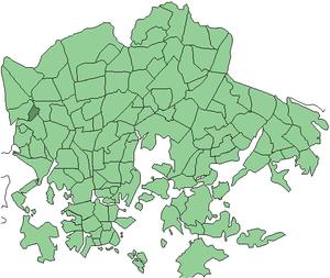 Marttila, Helsinki - Image: Helsinki districts Marttila 1