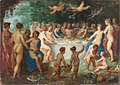 Hendrick van Balen - The Feast of the Gods, possibly the Wedding of Peleus and Thetis.jpg