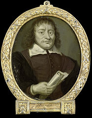 Portrait of Hendrik Bruno, Poet and Co-Rector of the Latin School in Hoorn