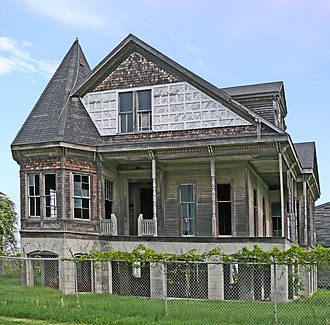 National Register of Historic Places listings in Galveston County, Texas - Image: Henry Beissner House