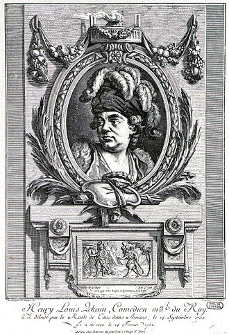 Brutus (tragedy) - Henry Louis Lekain in the role of Titus, 1750