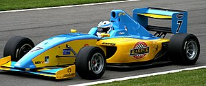 FIA Formula Two Championship (2009–2012) - Image: Henry Surtees 2009 F2 Brands Hatch 3