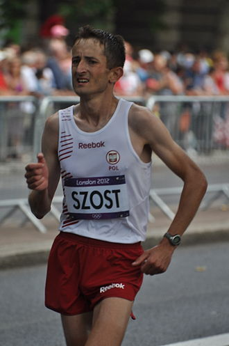 Poland at the 2012 Summer Olympics - Henryk Szost finished ninth in men's marathon.